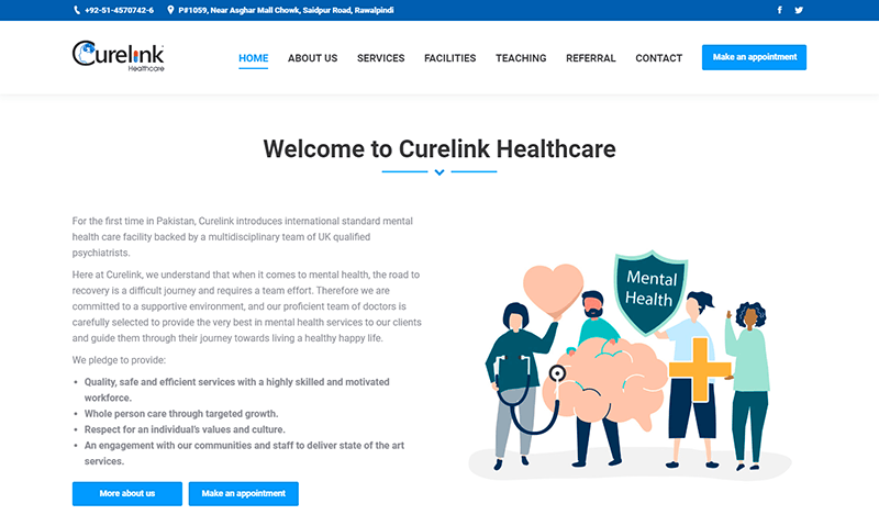 screencapture curelinkhealthcare